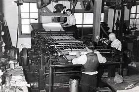Printing-press in india